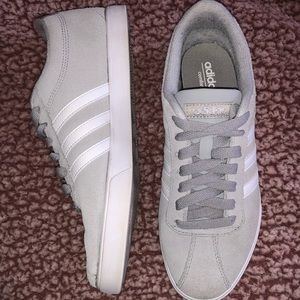 Gray Adidas Courtset Sneaker